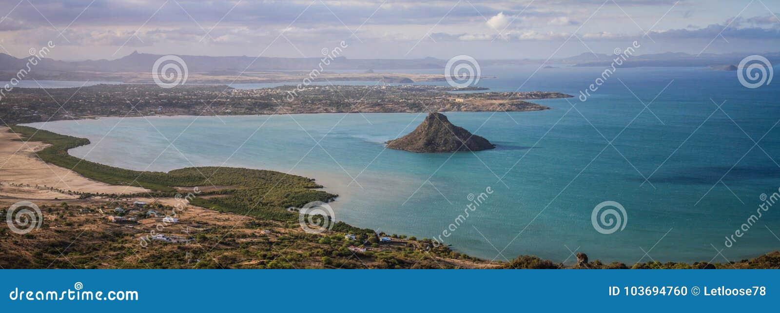 Panorama from the montagne des Français, Diana, Diego Suarez, Madagascar