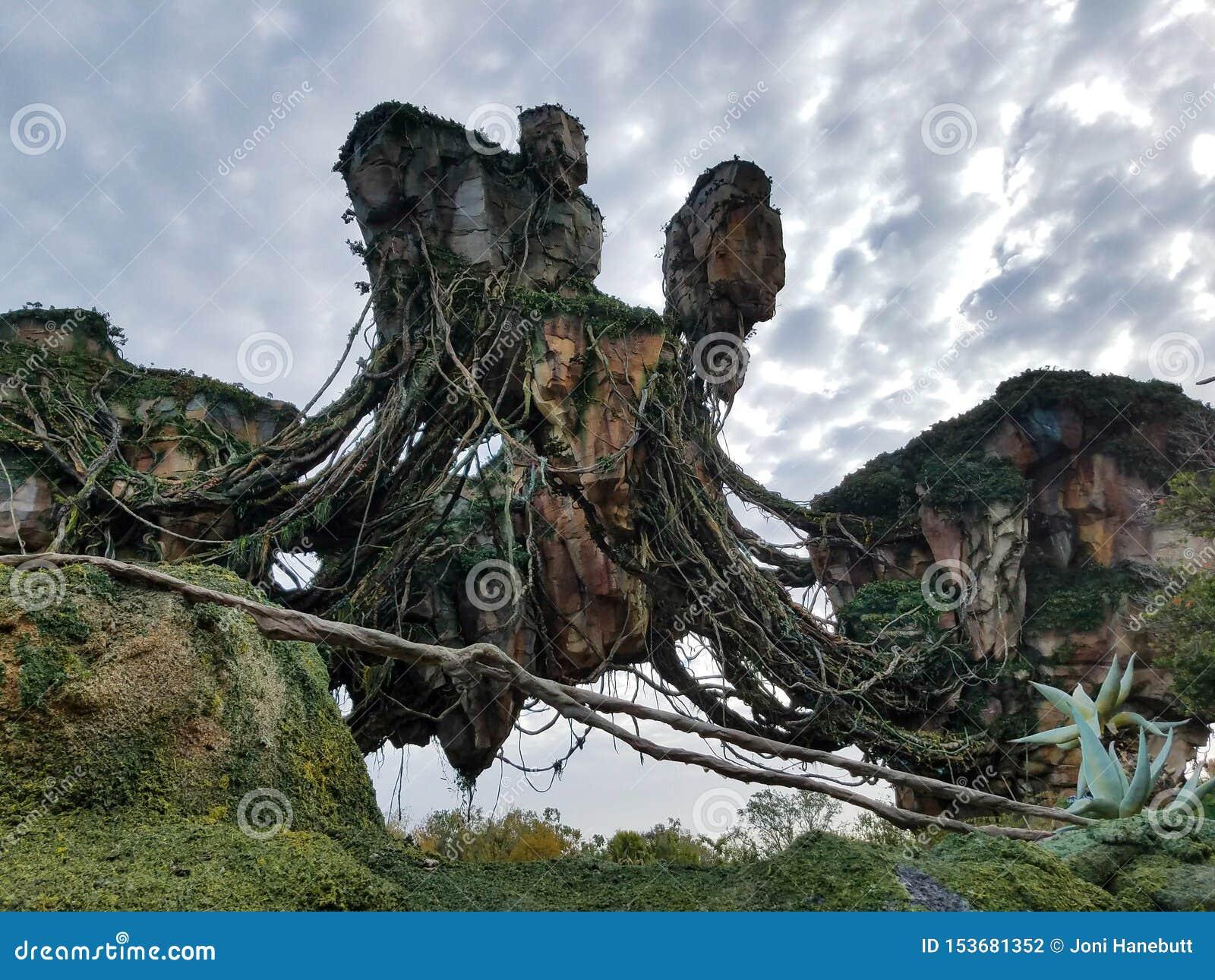 Montagne di galleggiamento da Pandora in Disney