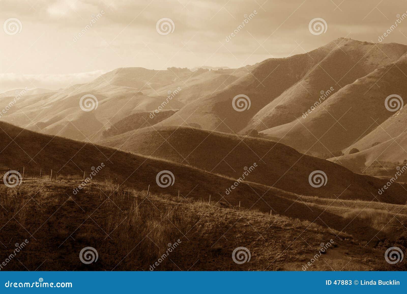 Montagne distanti