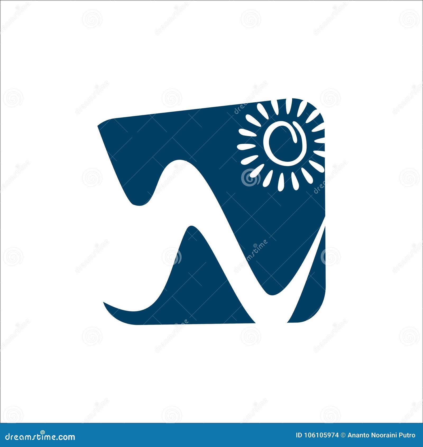 Montagne et logo de Sun