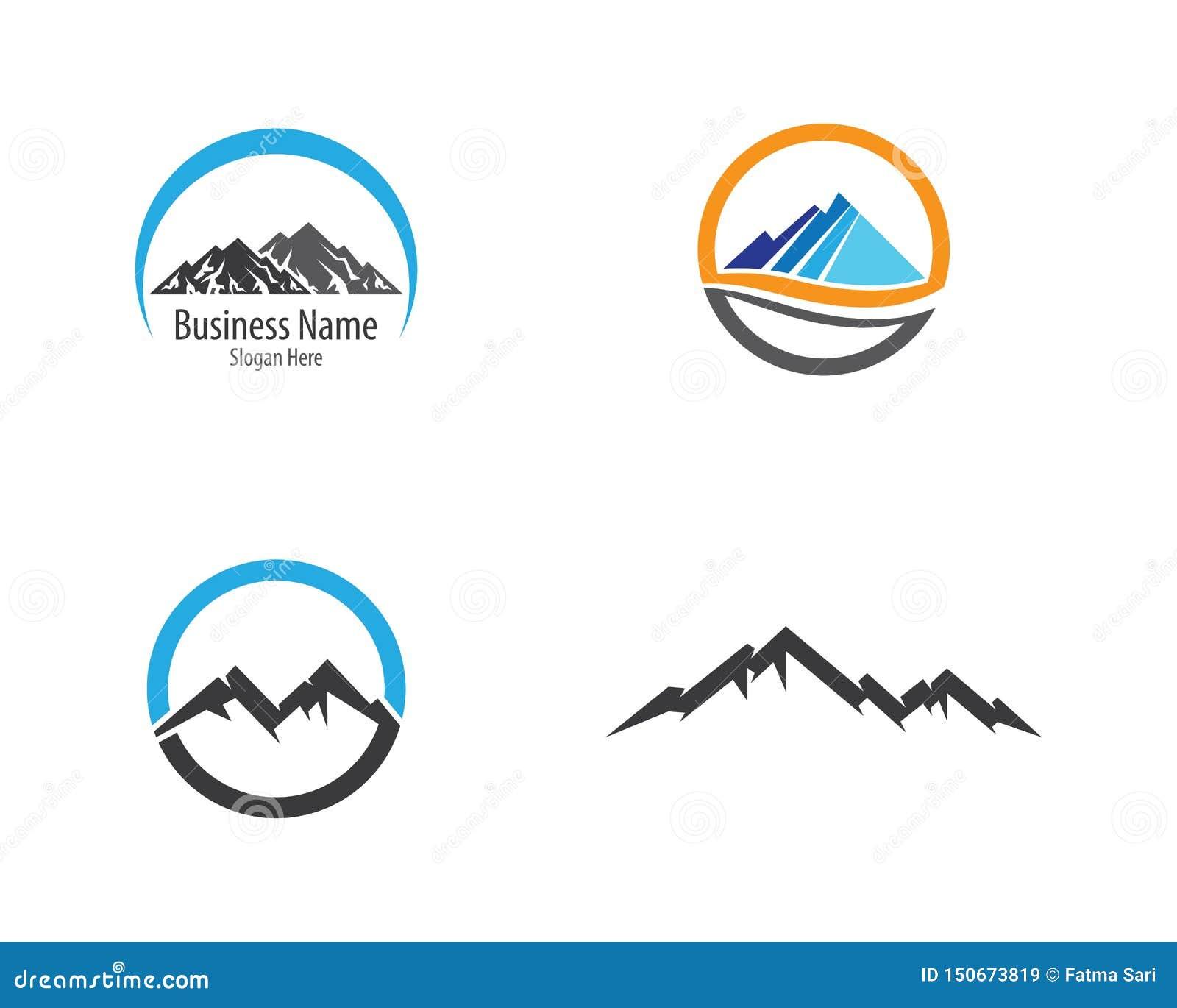 Montagne Logo Template