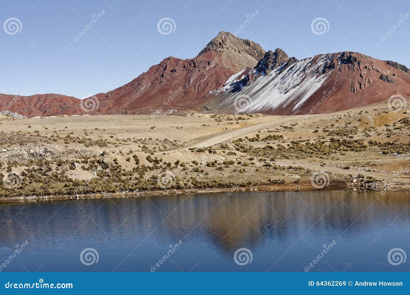 Montagne nel Perù