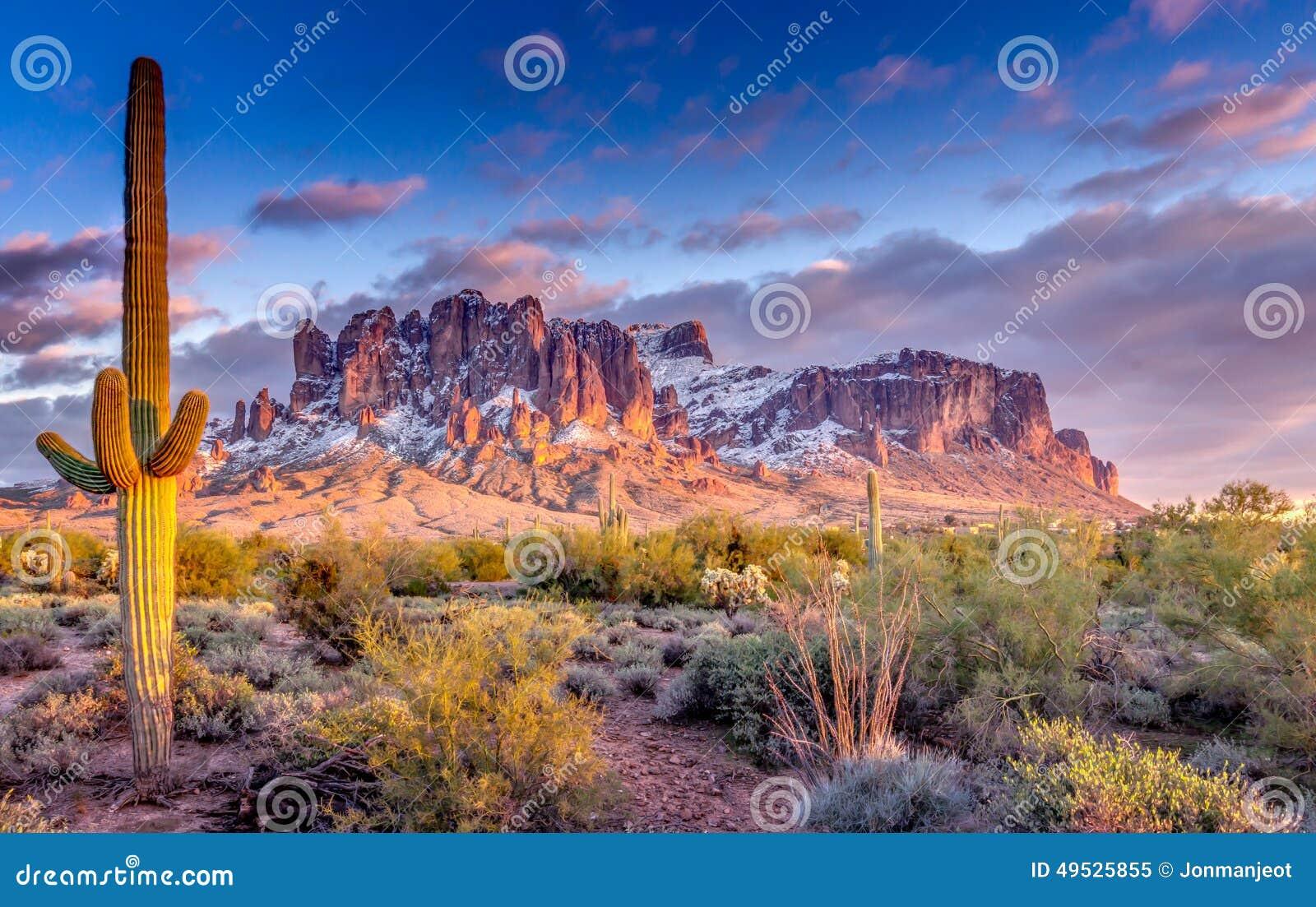 Montagnes Arizona de superstition