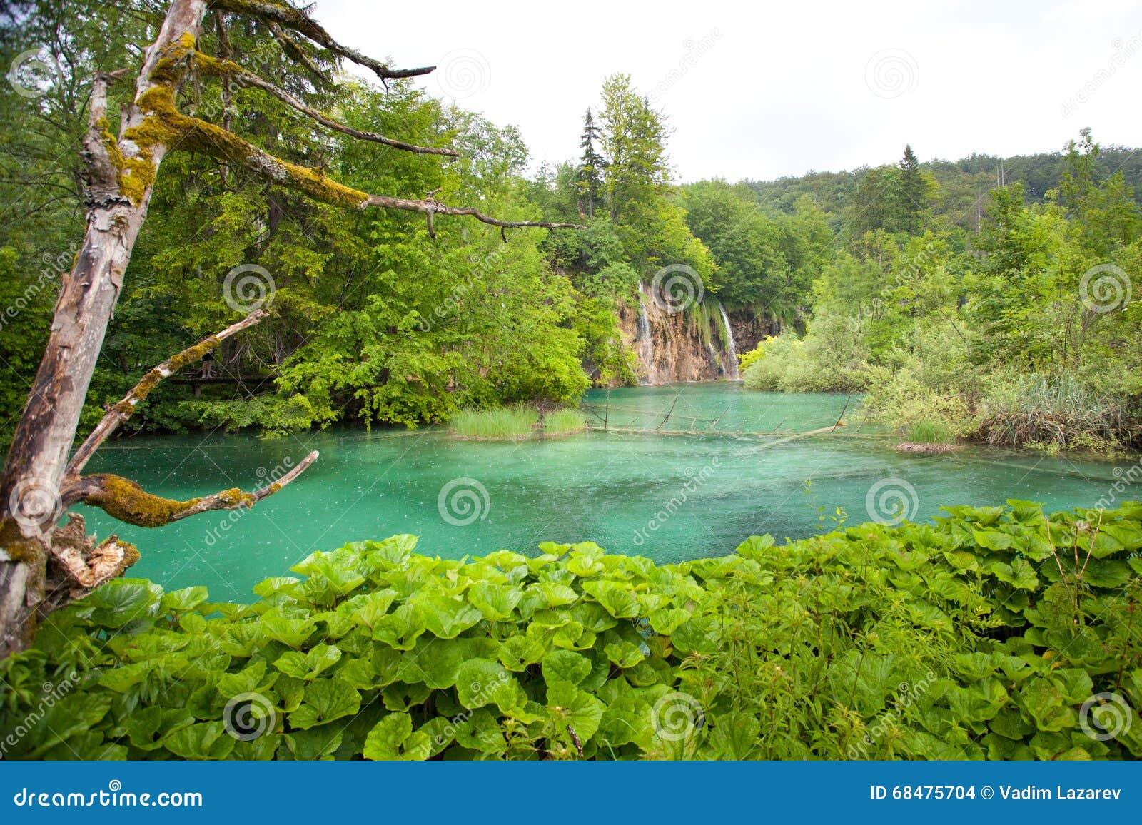 Montagnes corses de montagne de lac de laque du creno de France de la Corse