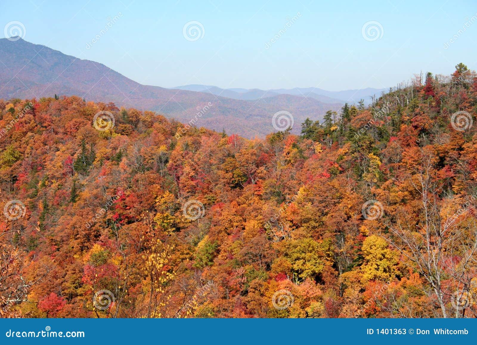 Montagnes d automne