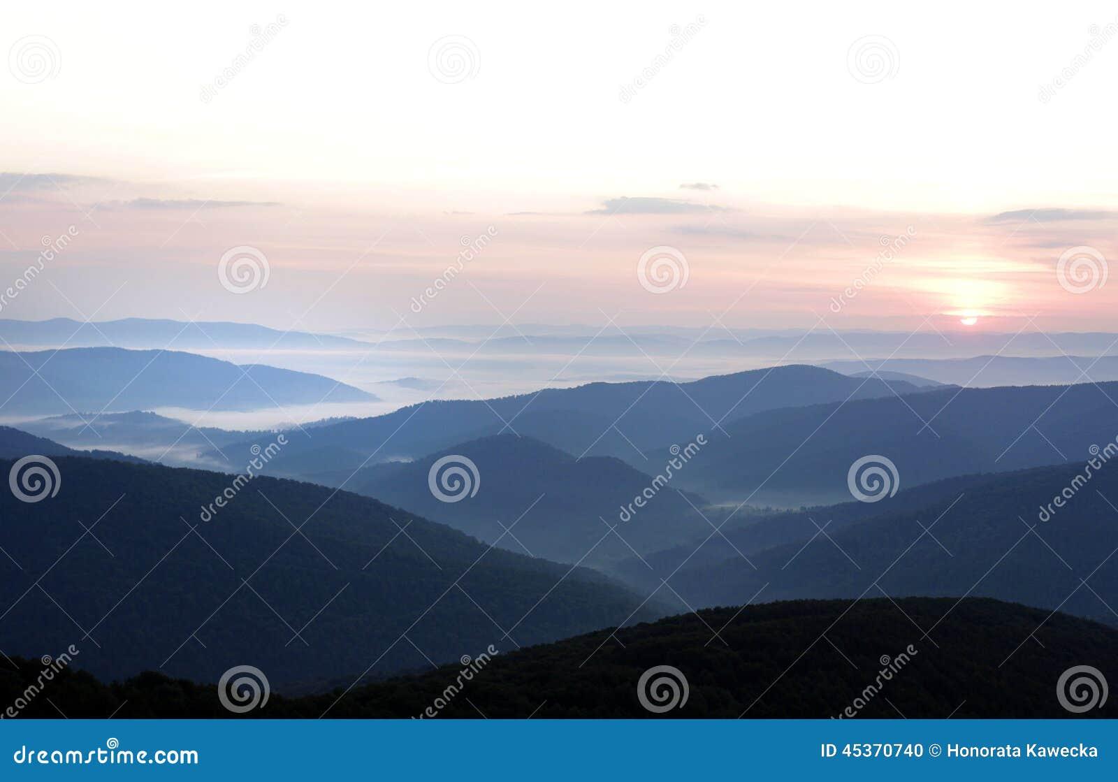 Montagnes de Bieszczady
