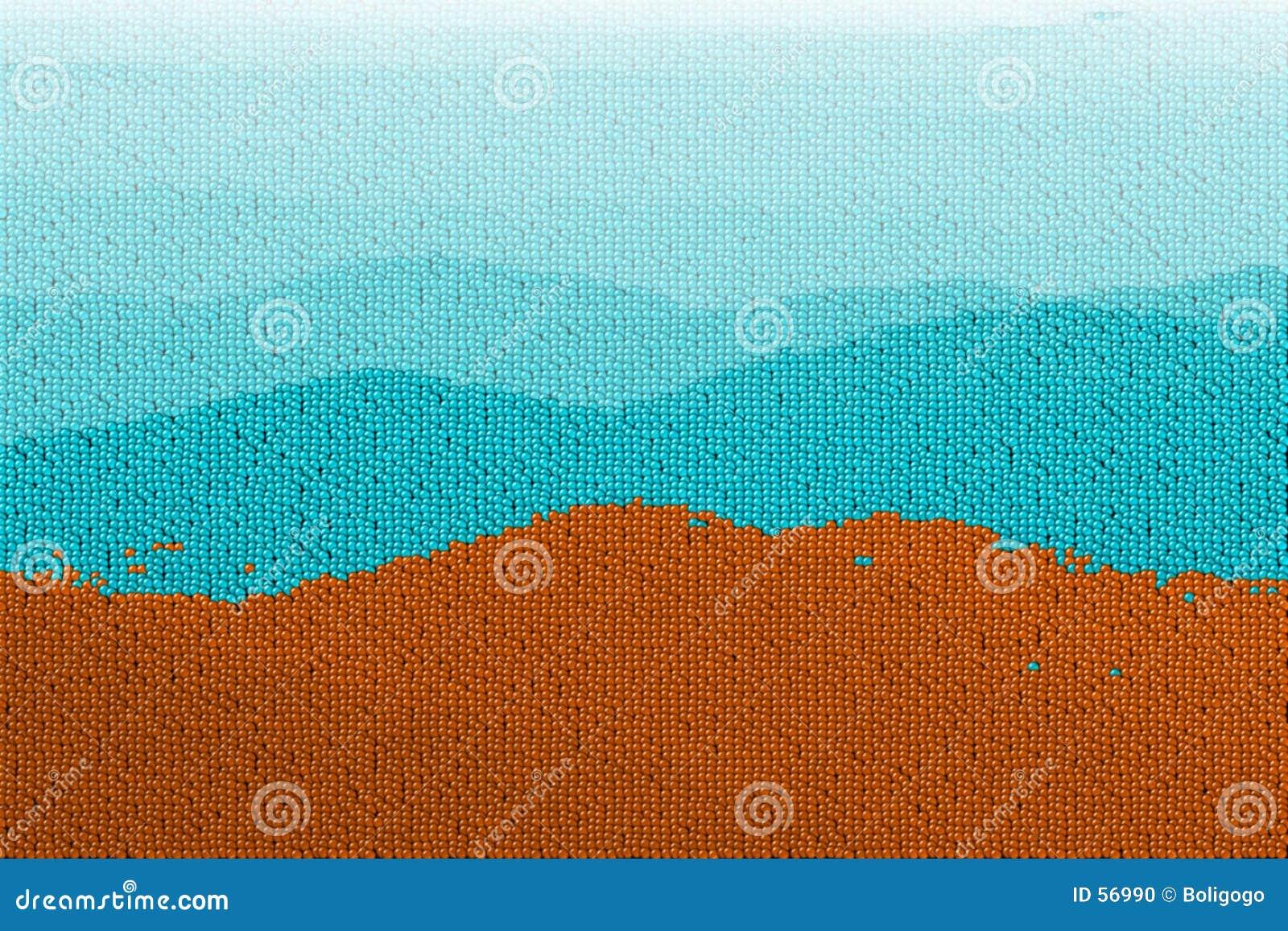 Download Montagnes De Bille De Canon Illustration Stock - Illustration du toile, ciel: 56990