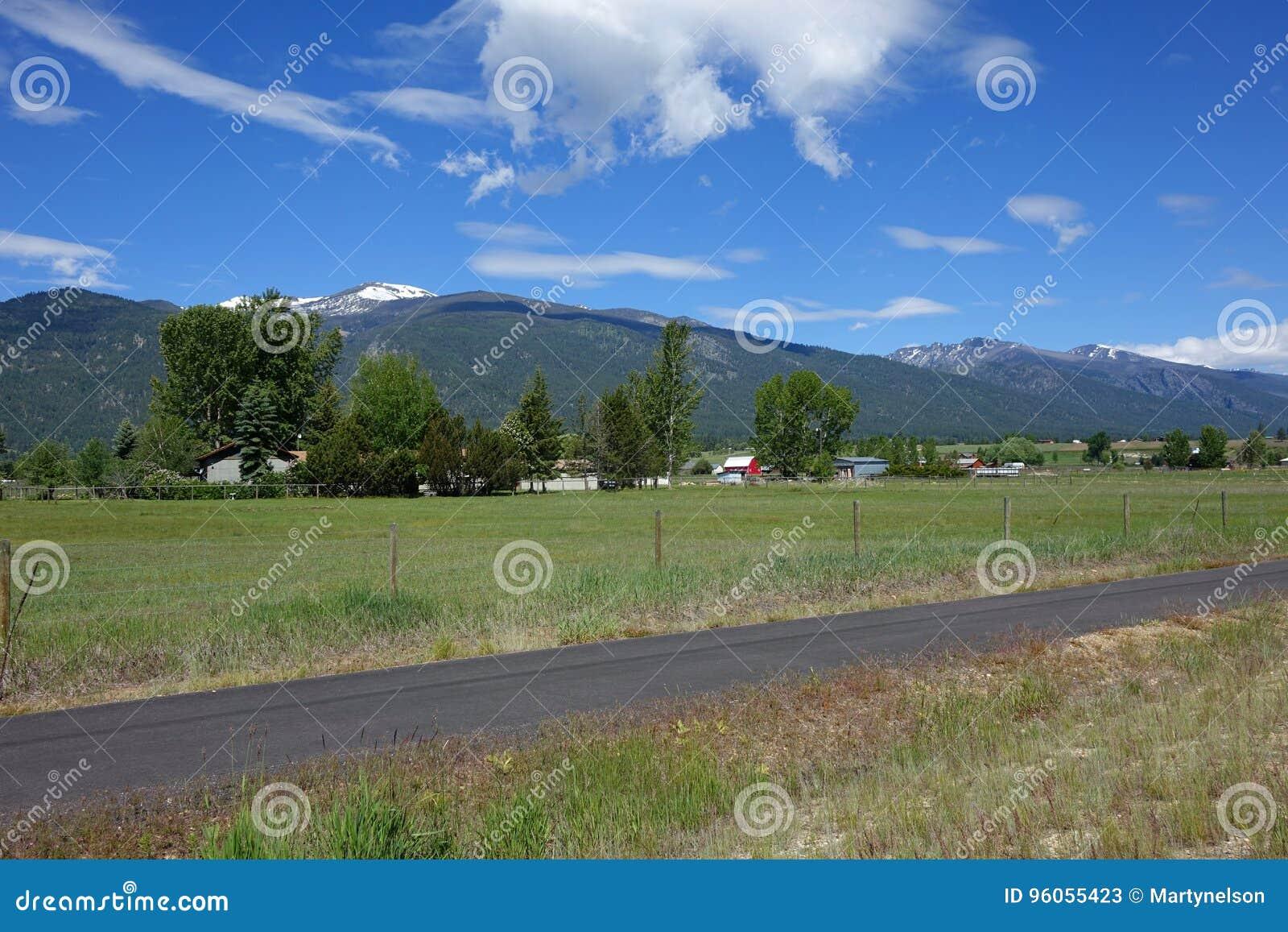 Montagnes de Bitterroot - Montana