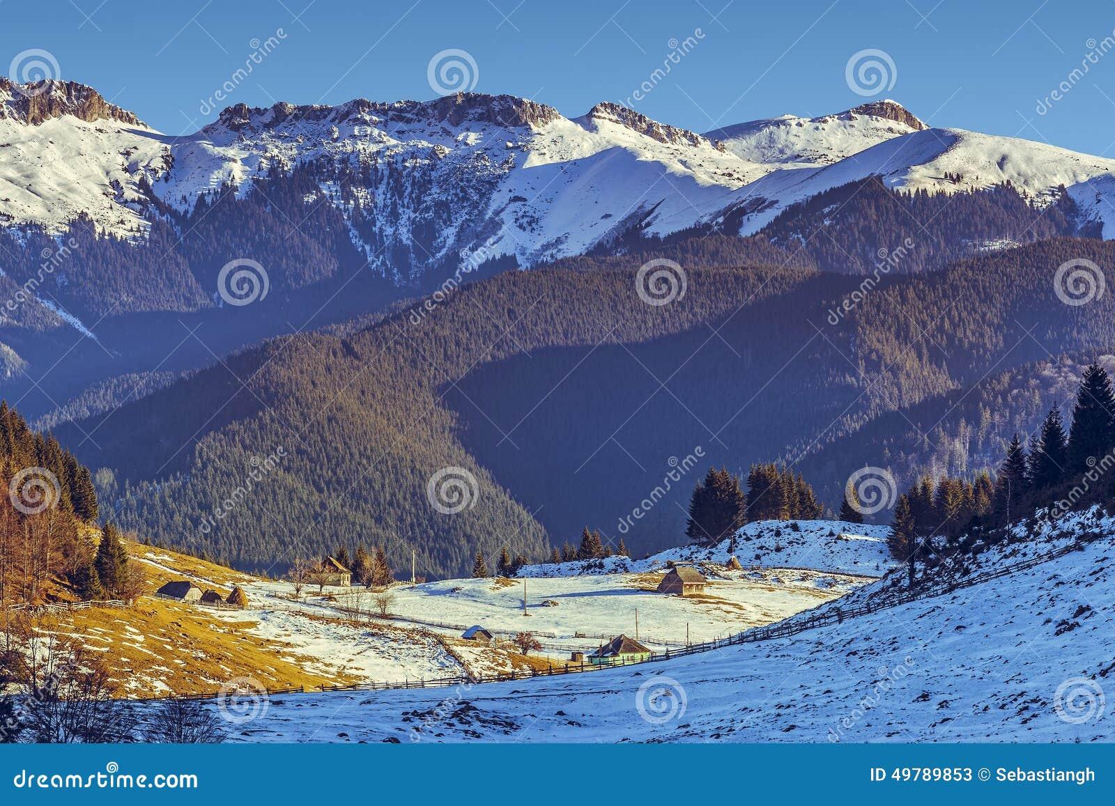 Montagnes de Bucegi, Fundata, Roumanie