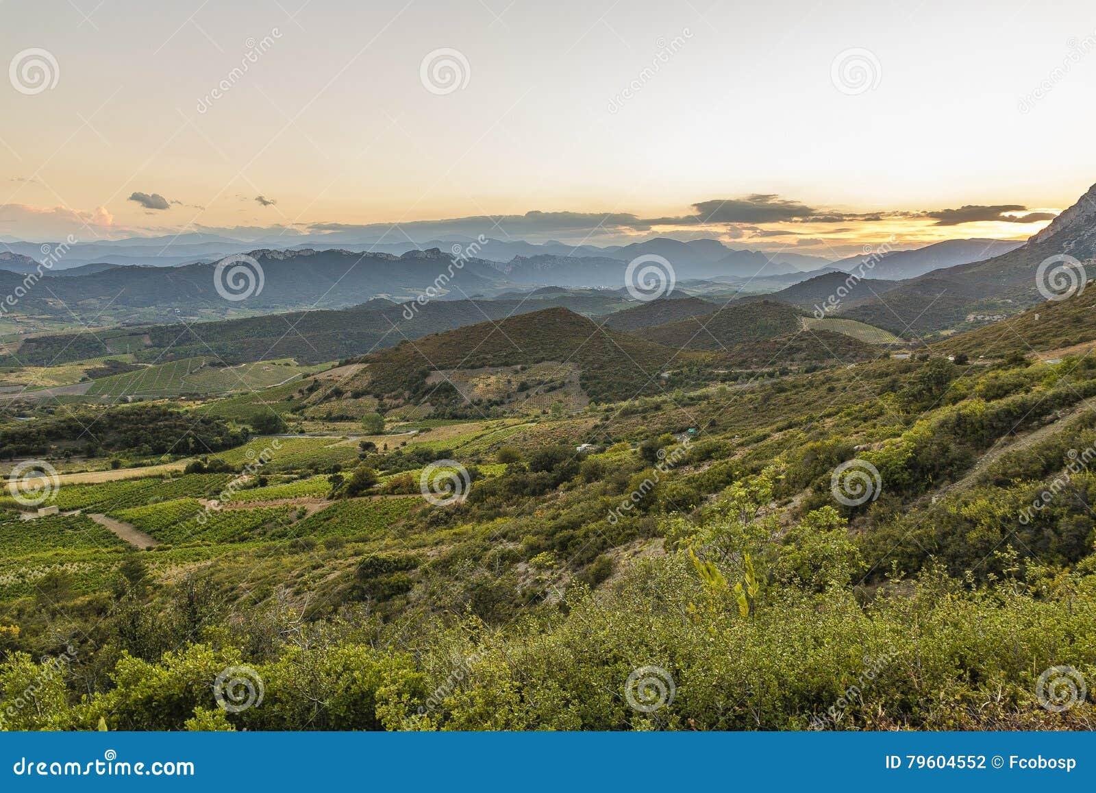 Montagnes de Corbieres, Frances