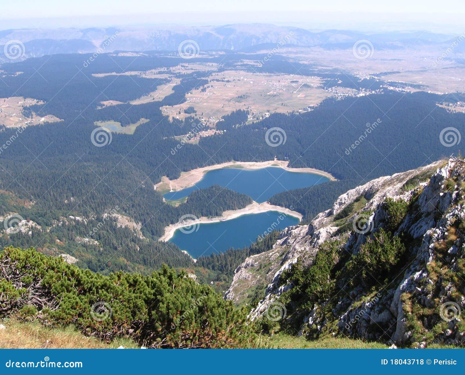 Montagnes de Crno Jezero (lac noir) Durmitor