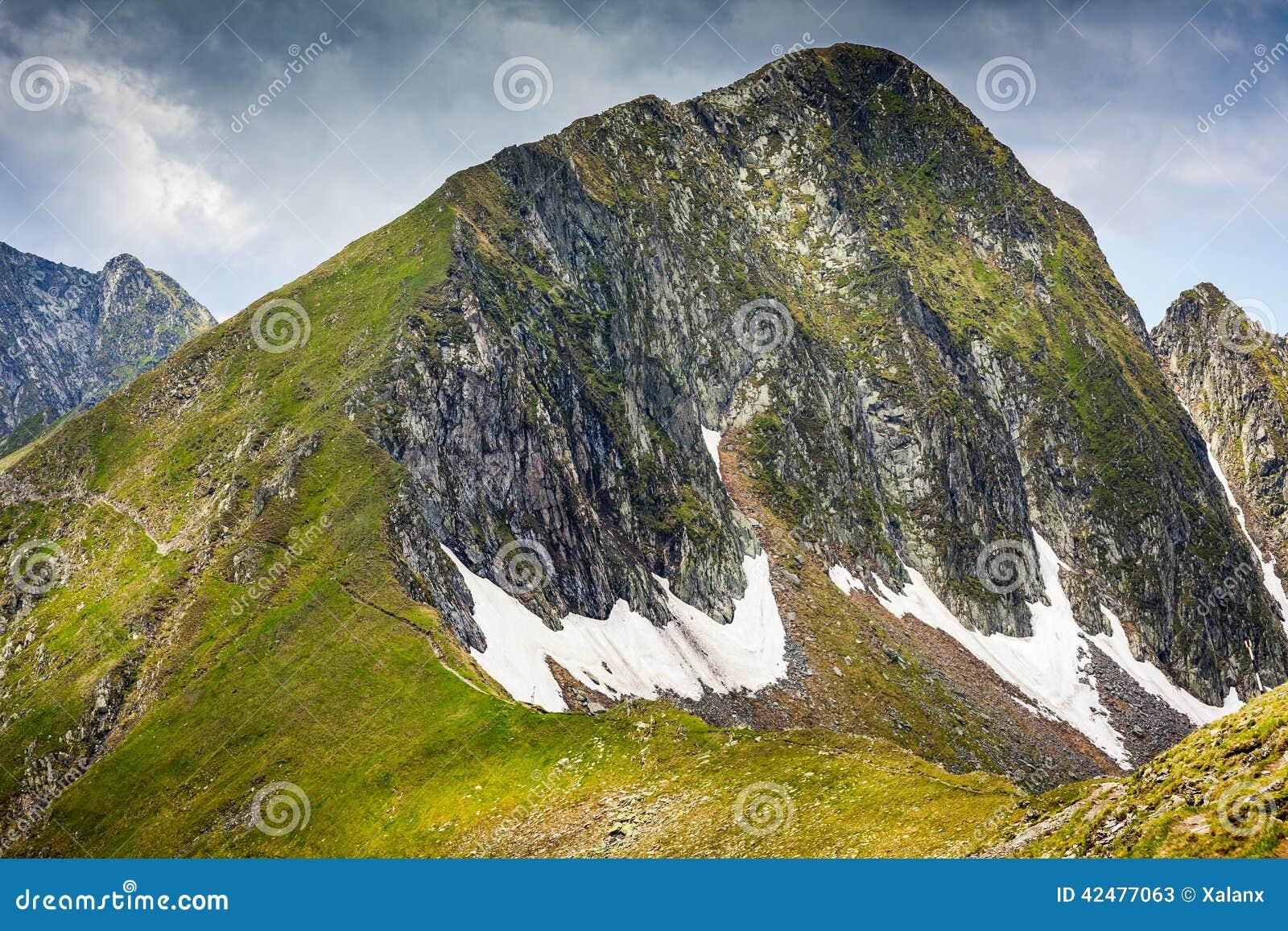 Montagnes de Fagaras en Roumanie