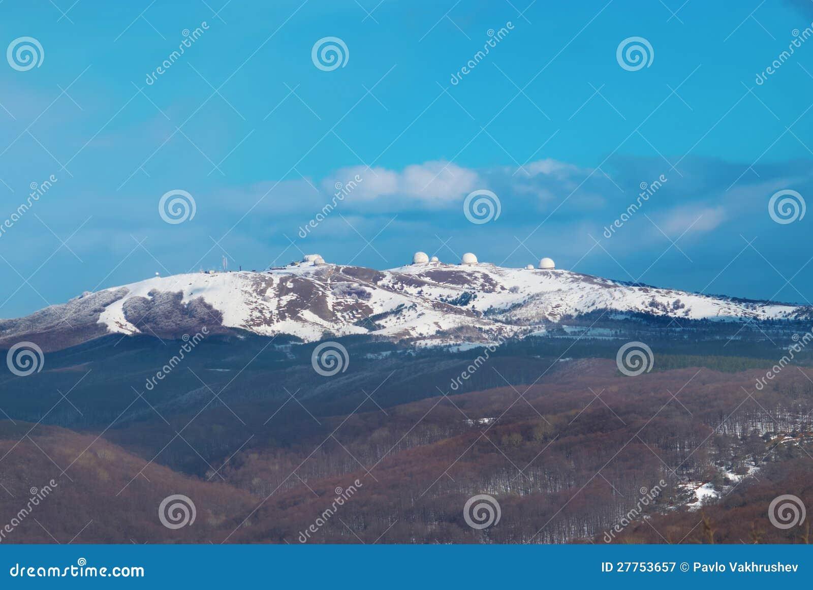 Montagnes de l hiver
