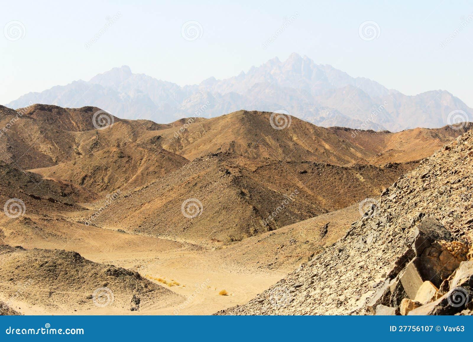 Montagnes de la Mer Rouge