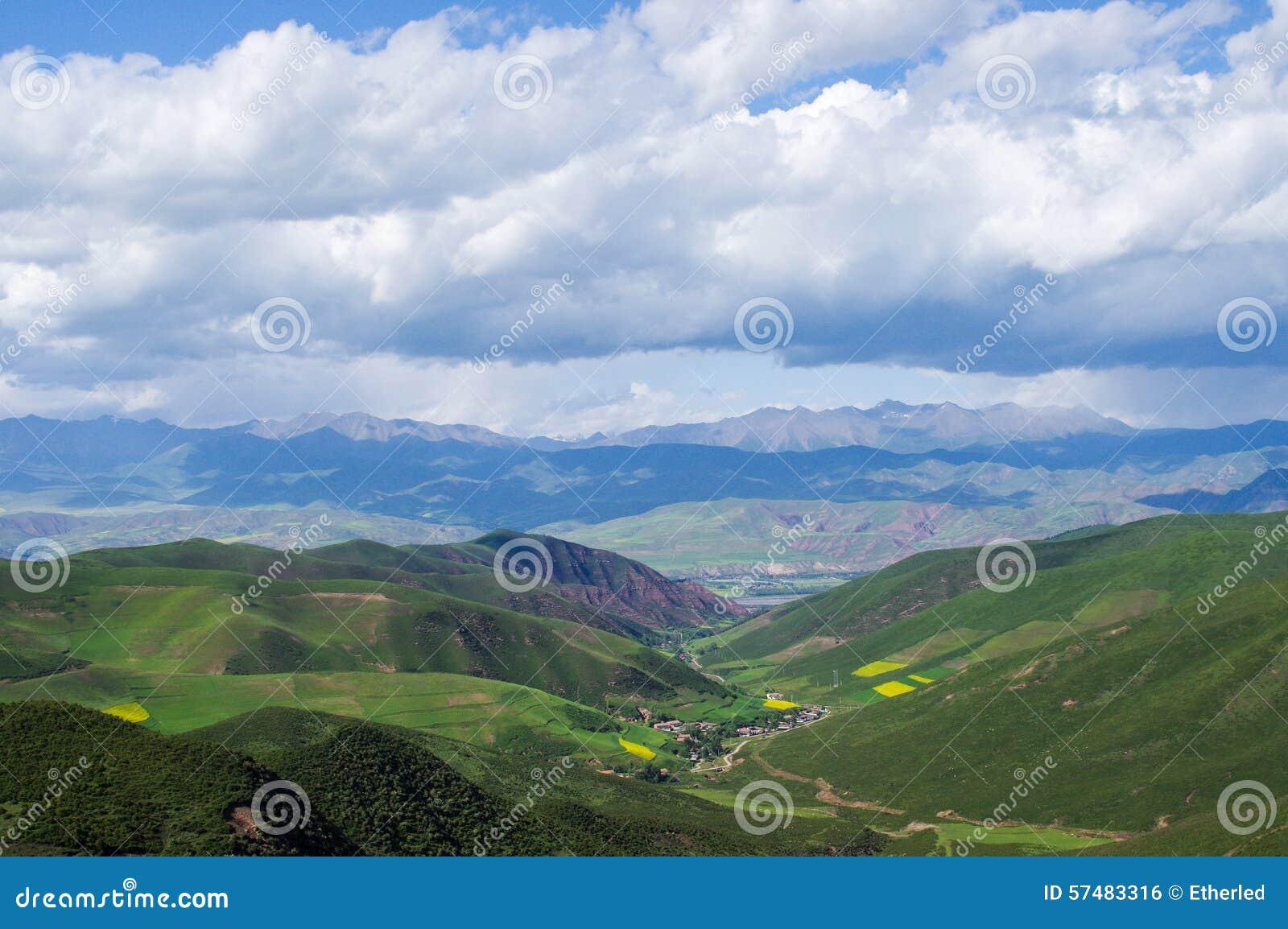 Montagnes de Qilian