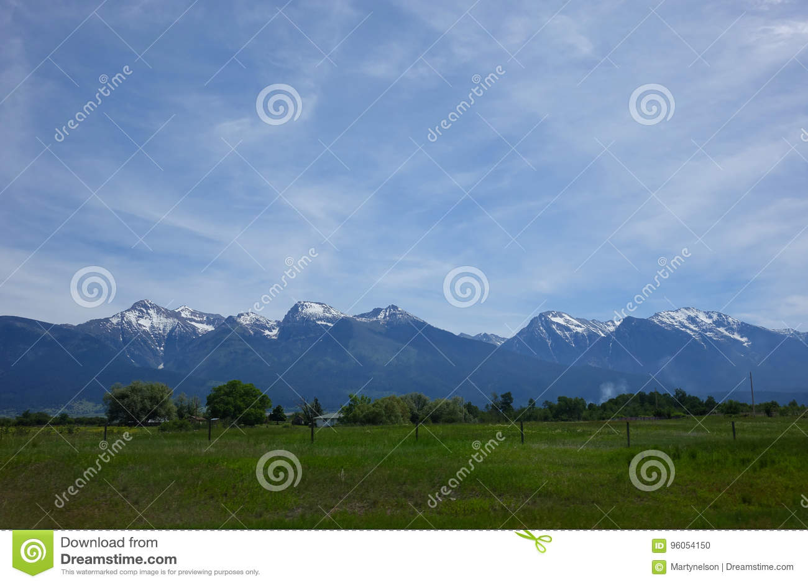 Montagnes du Montana