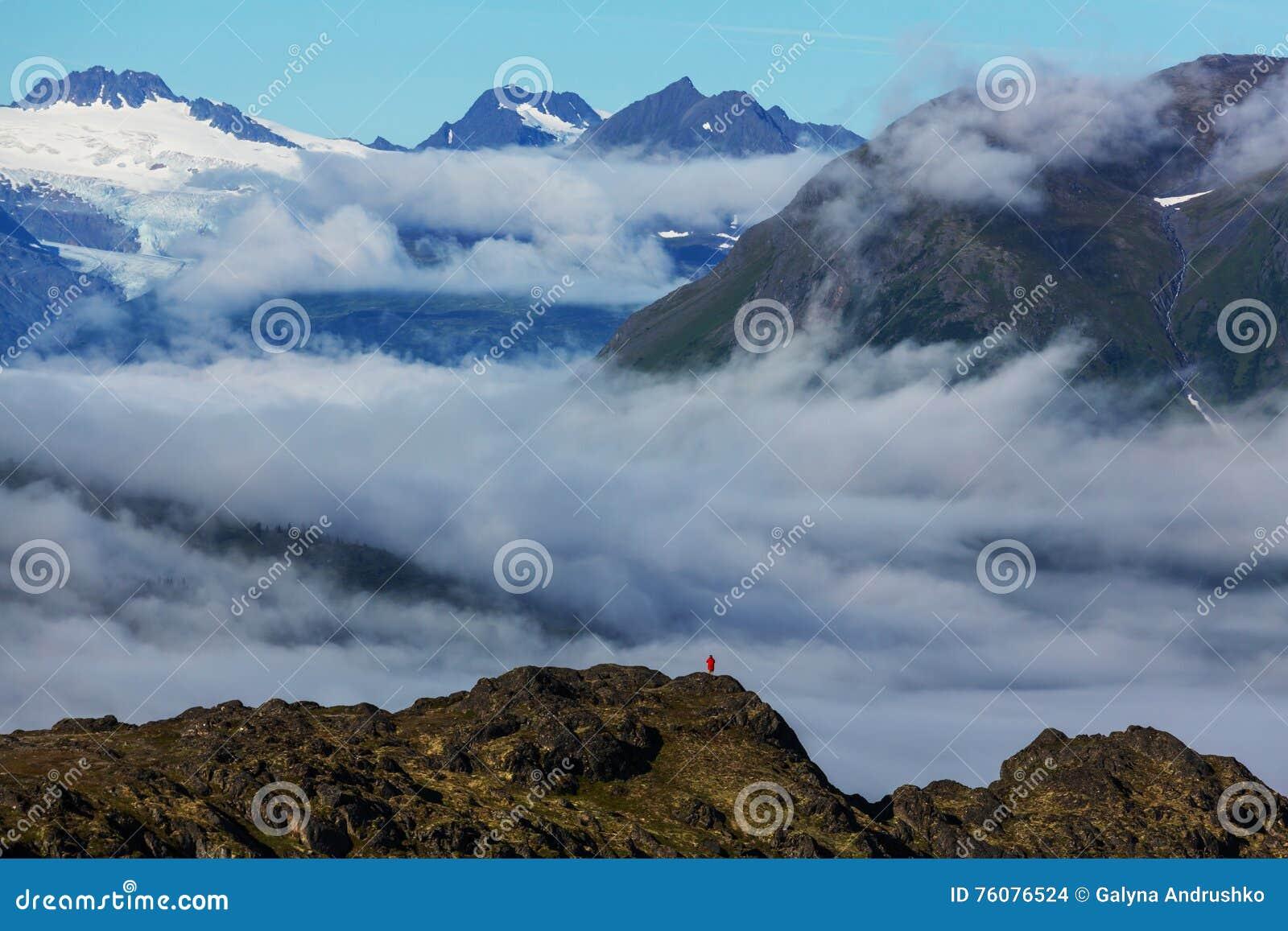 Montagnes en Alaska