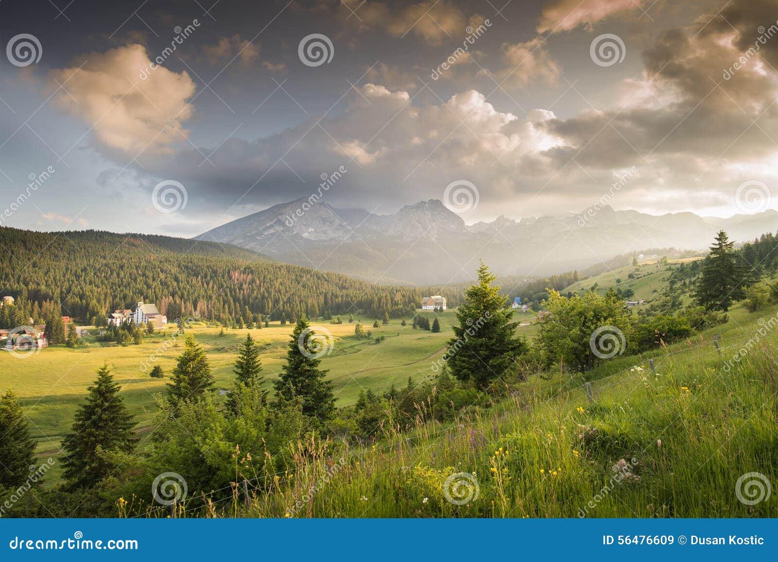 Montagnes en parc national