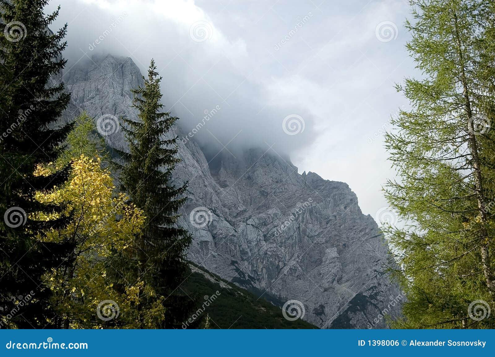 Montagnes en Slovénie