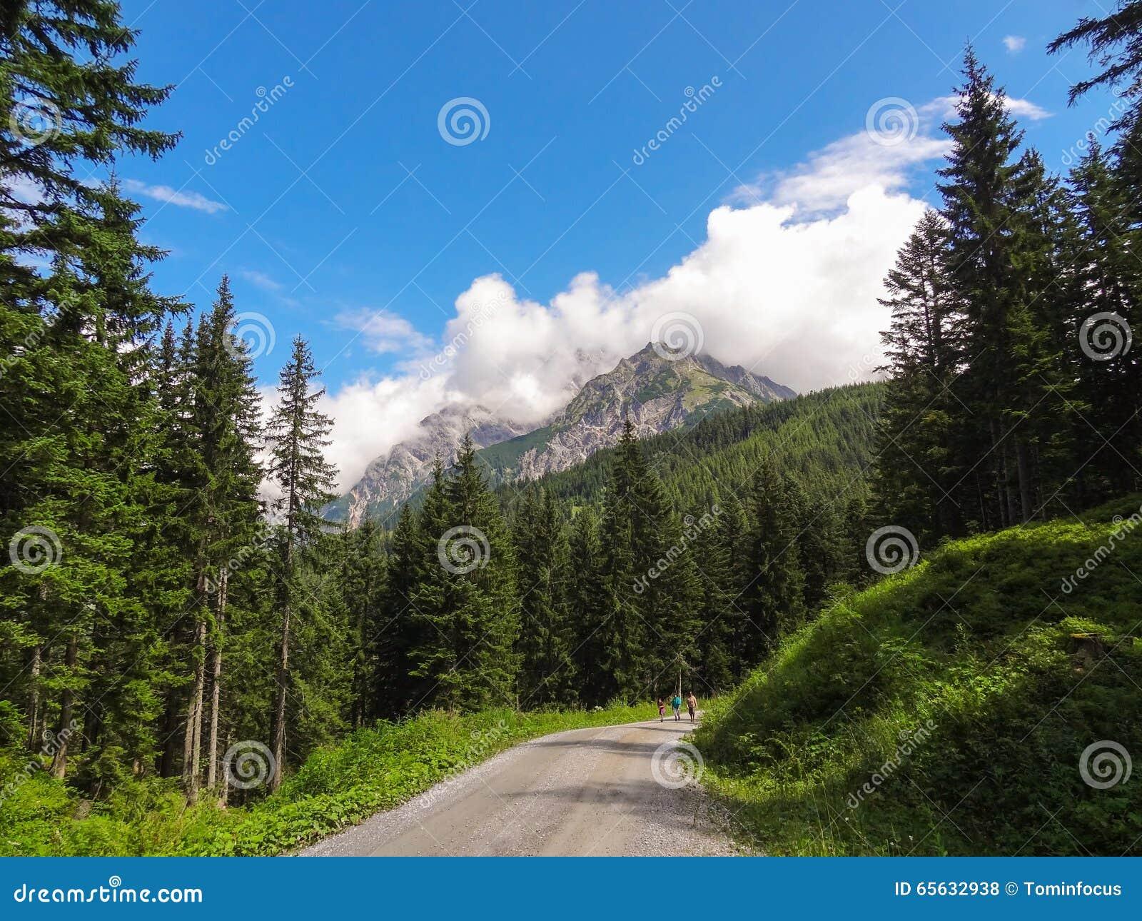 Montagnes et nuages 1