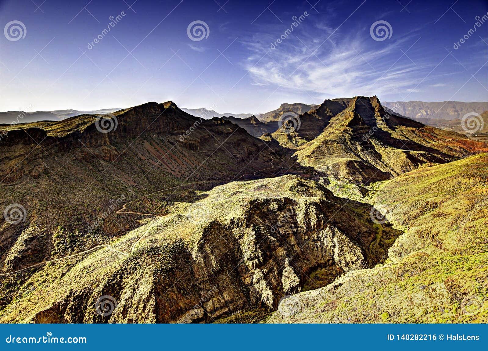 Montagnes volcaniques