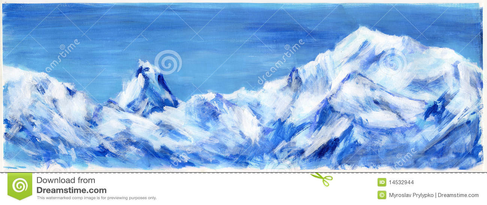 Montan@as azules drenadas mano
