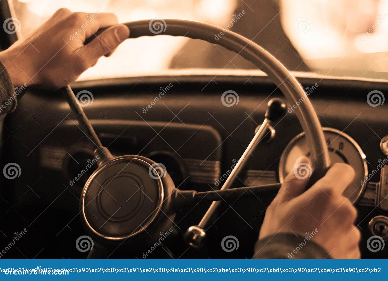 Montando um carro do vintage