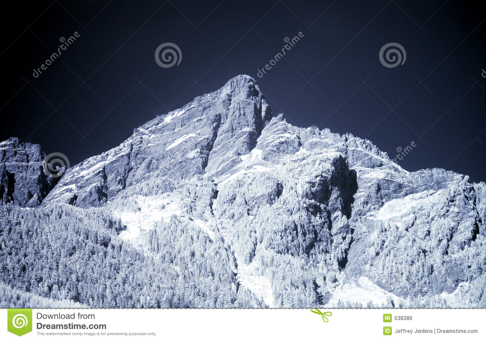 Montanha azul