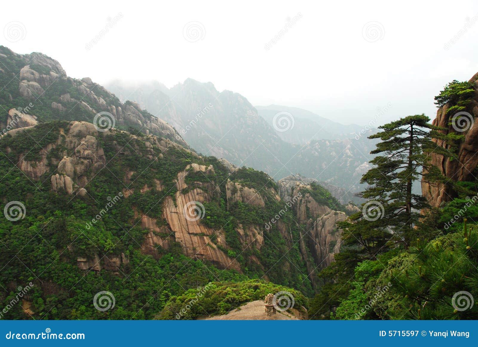 Montanha de Huangshan