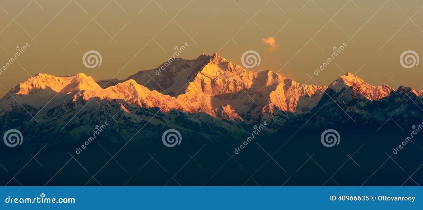 Montanha de Kangchendzonga