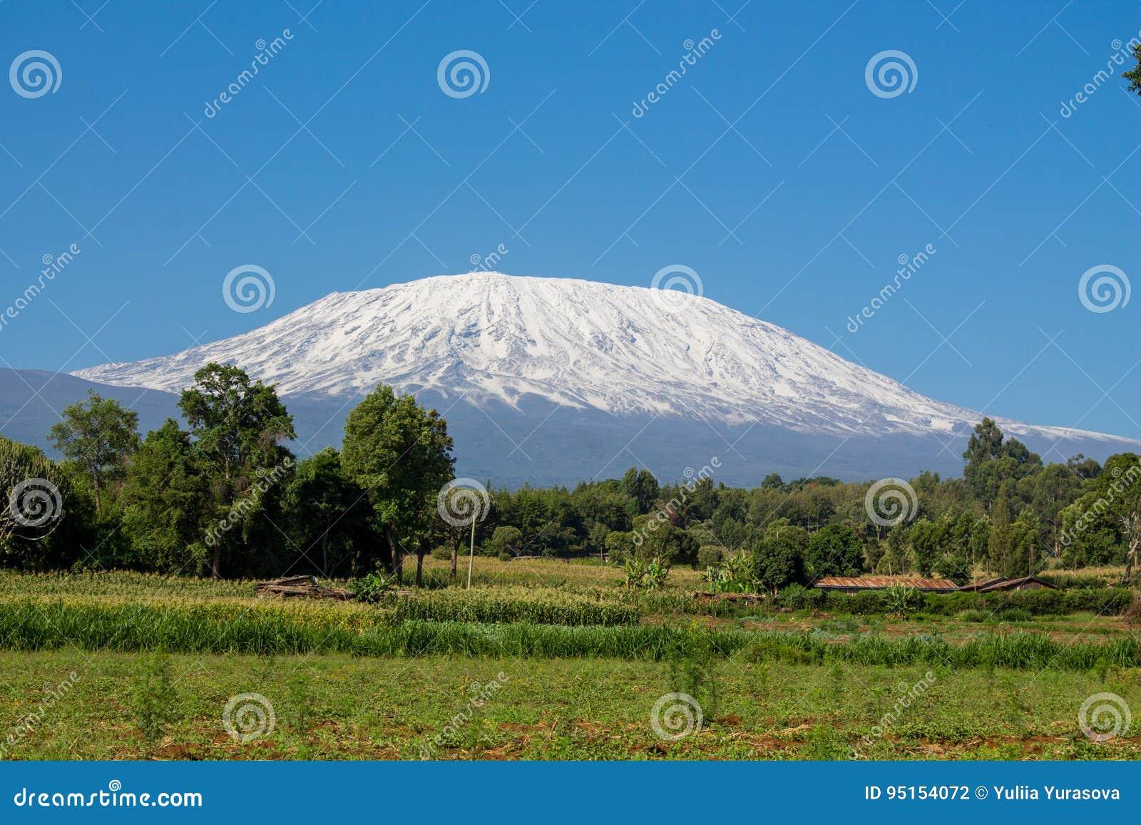 Montanha de Kilimanjaro