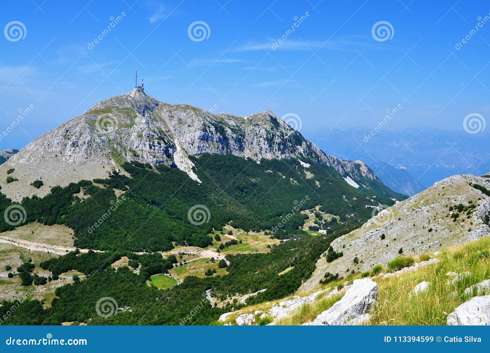 Montanha de Lovcen - Montenegro