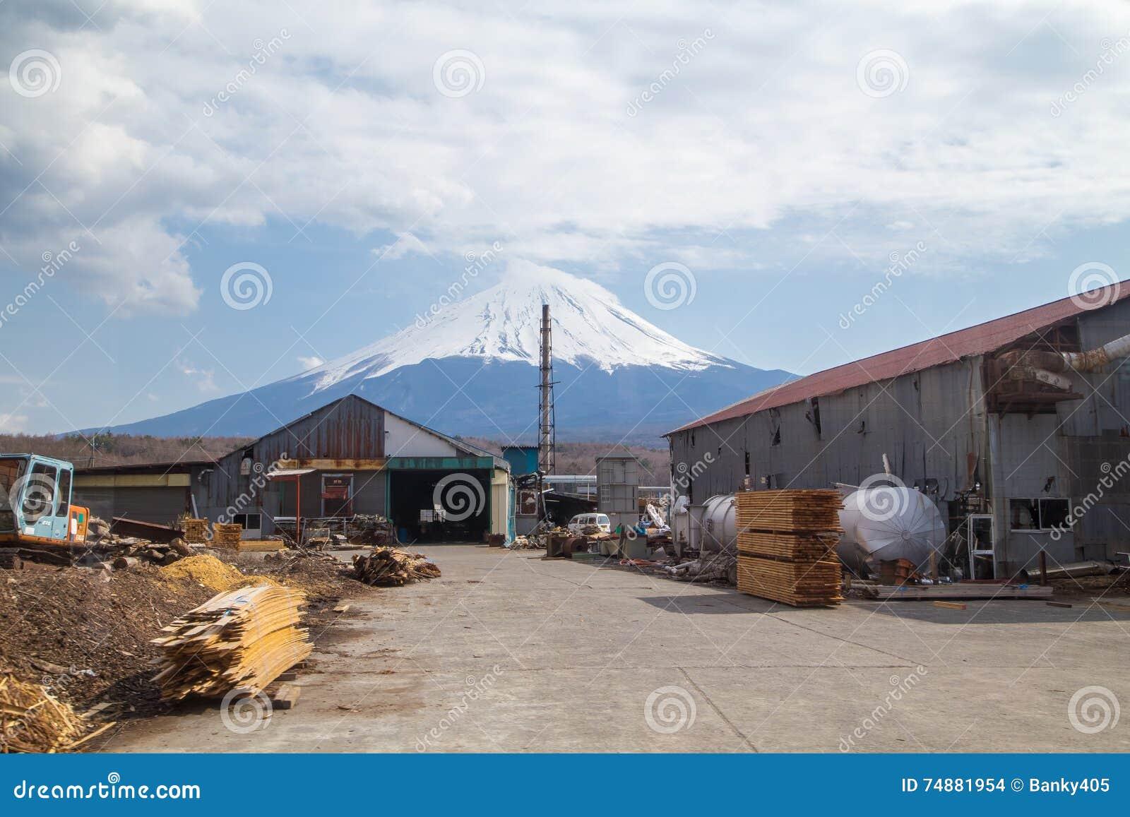 Montanha Fuji em Japão