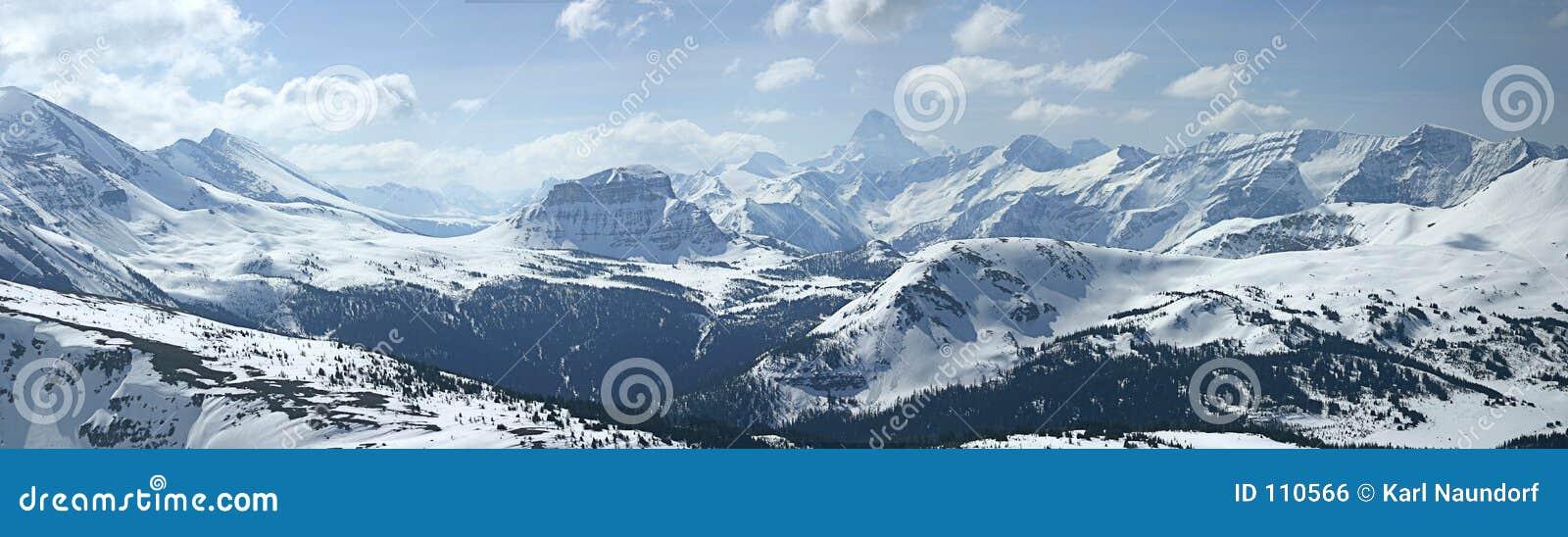 Montanha panorâmico