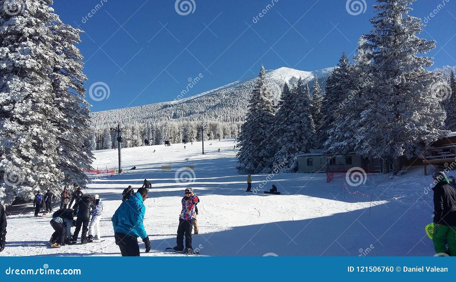 Montanha Wing Snow Play Area, mastro, o Arizona