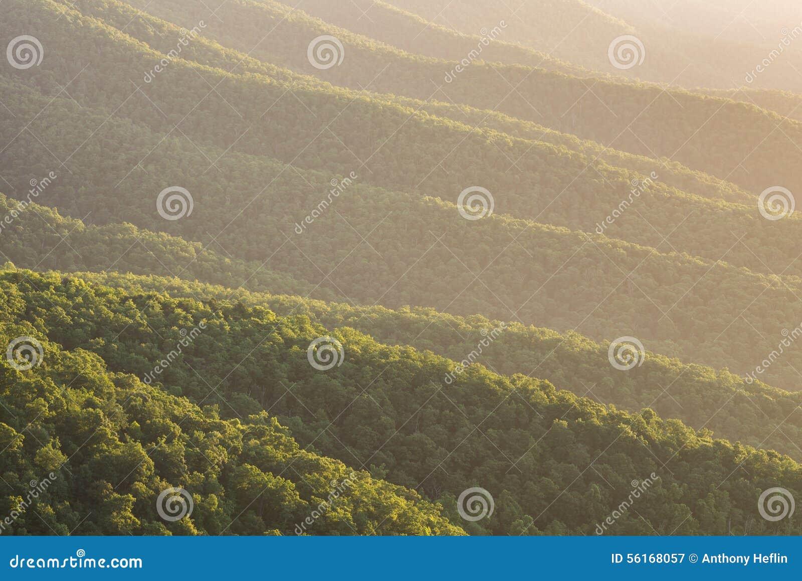 Montanhas apalaches, Ridge azul, cênico