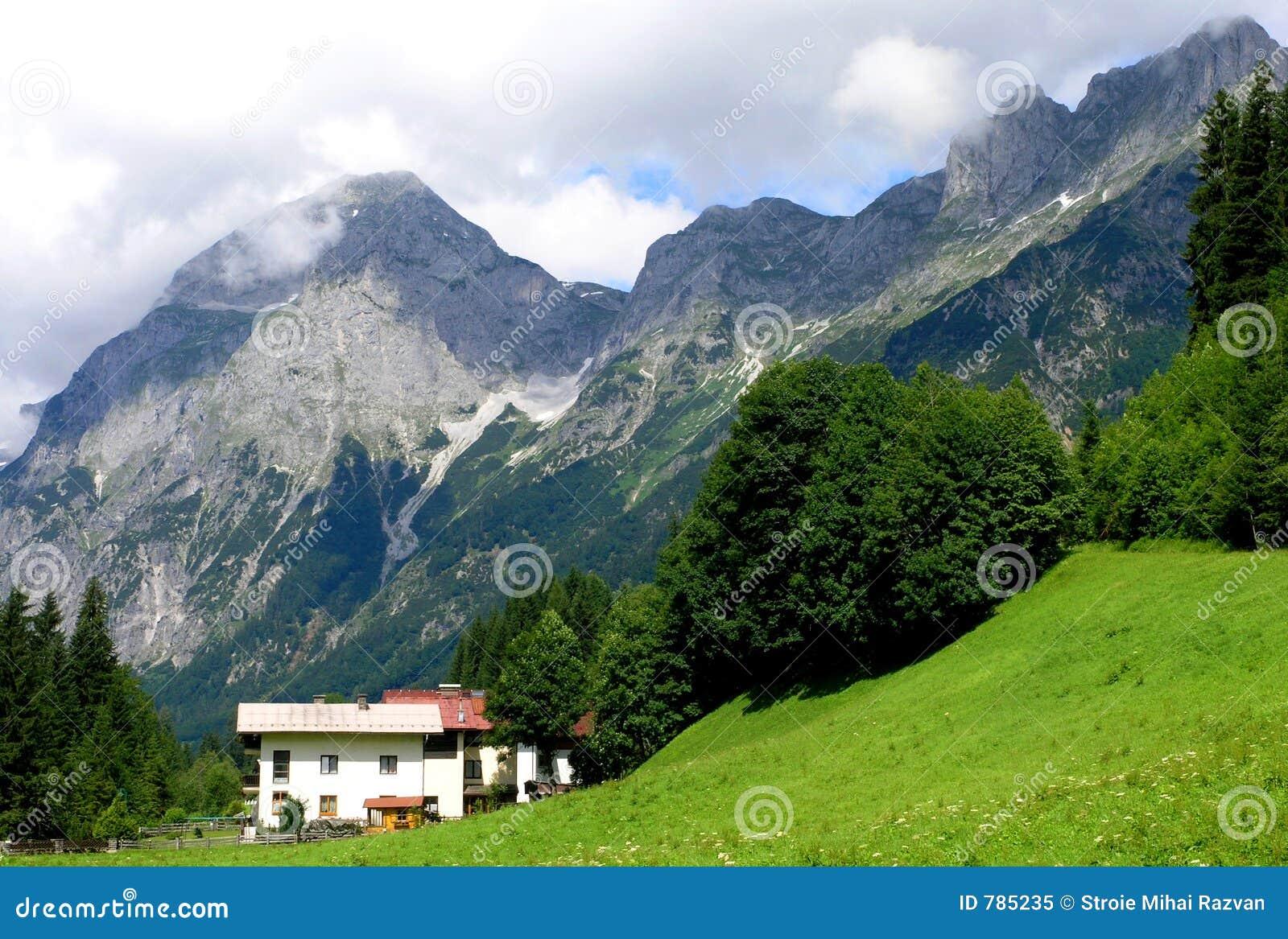 Montanhas austríacas