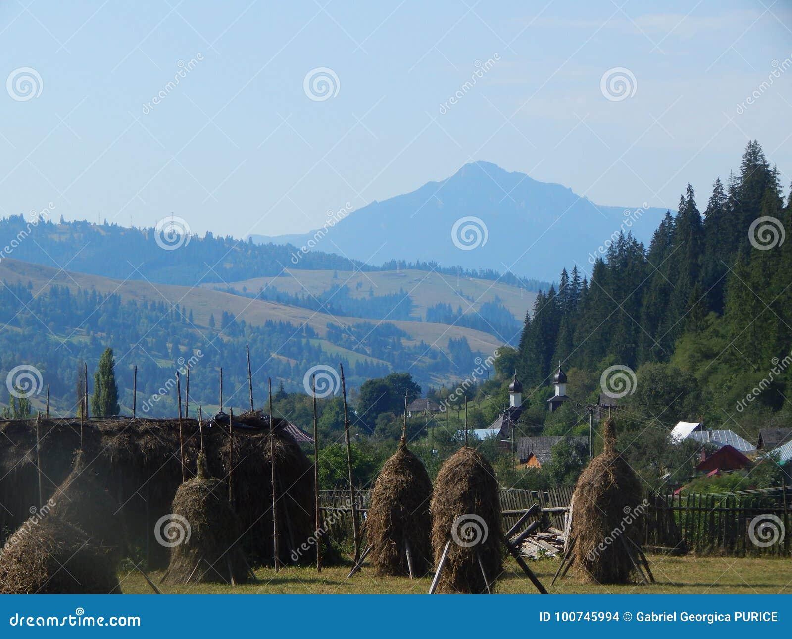 Montanhas Carpathian romenas