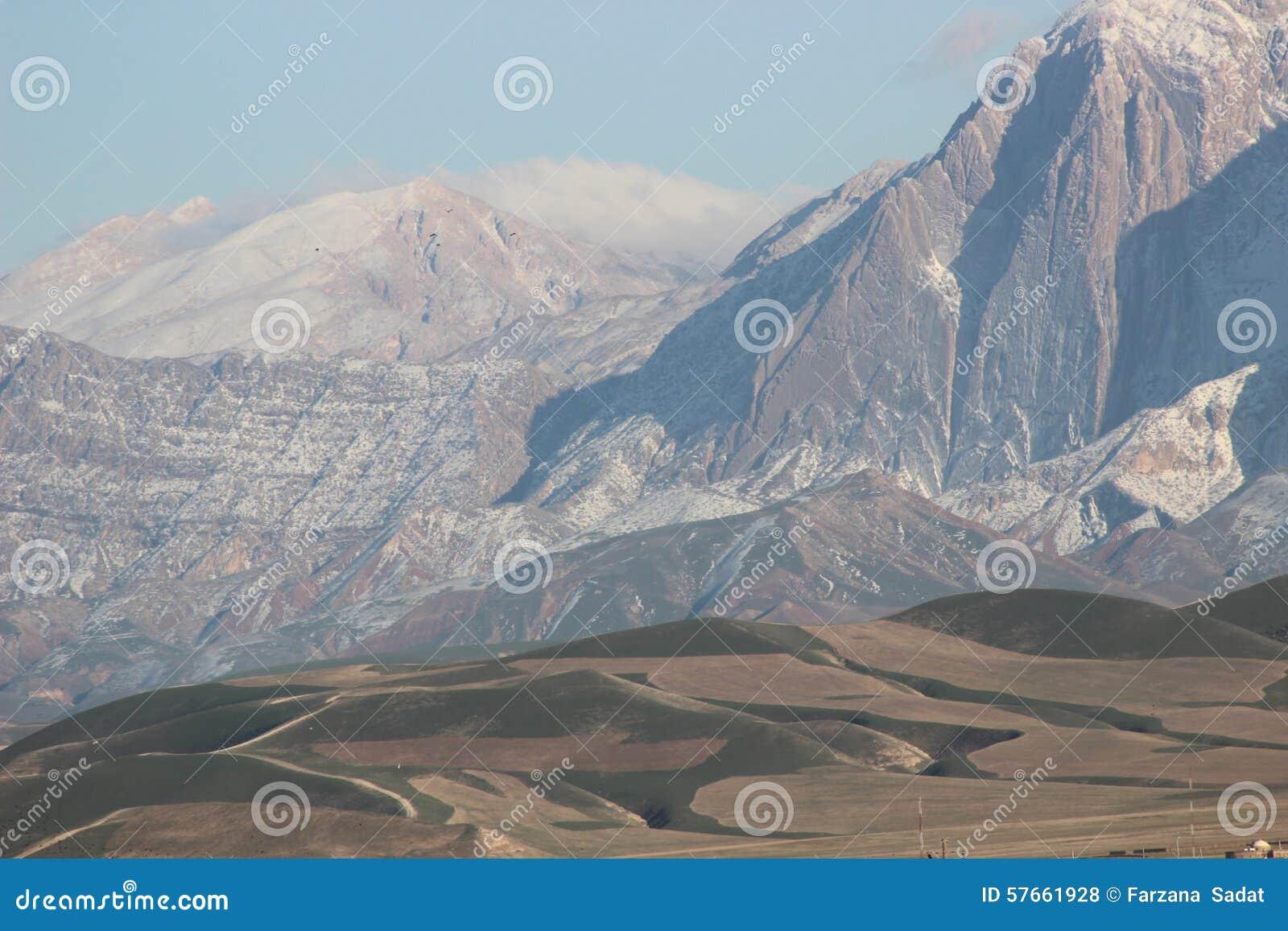 Montanhas da areia