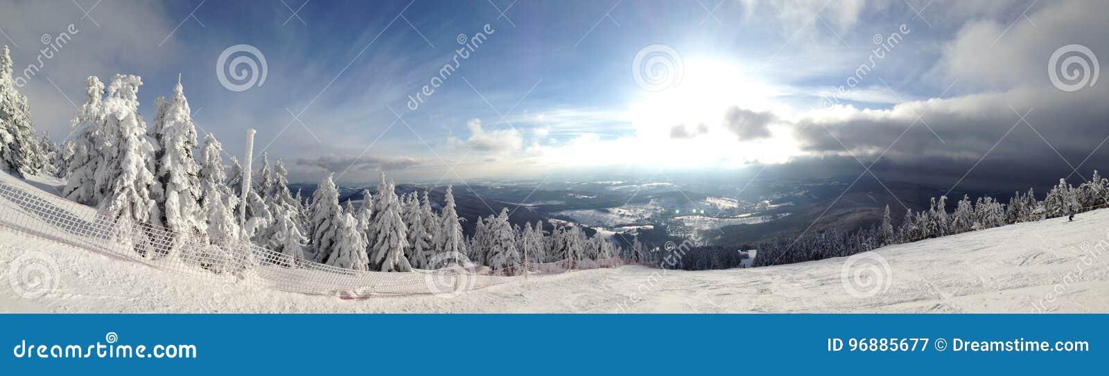 Montanhas da neve