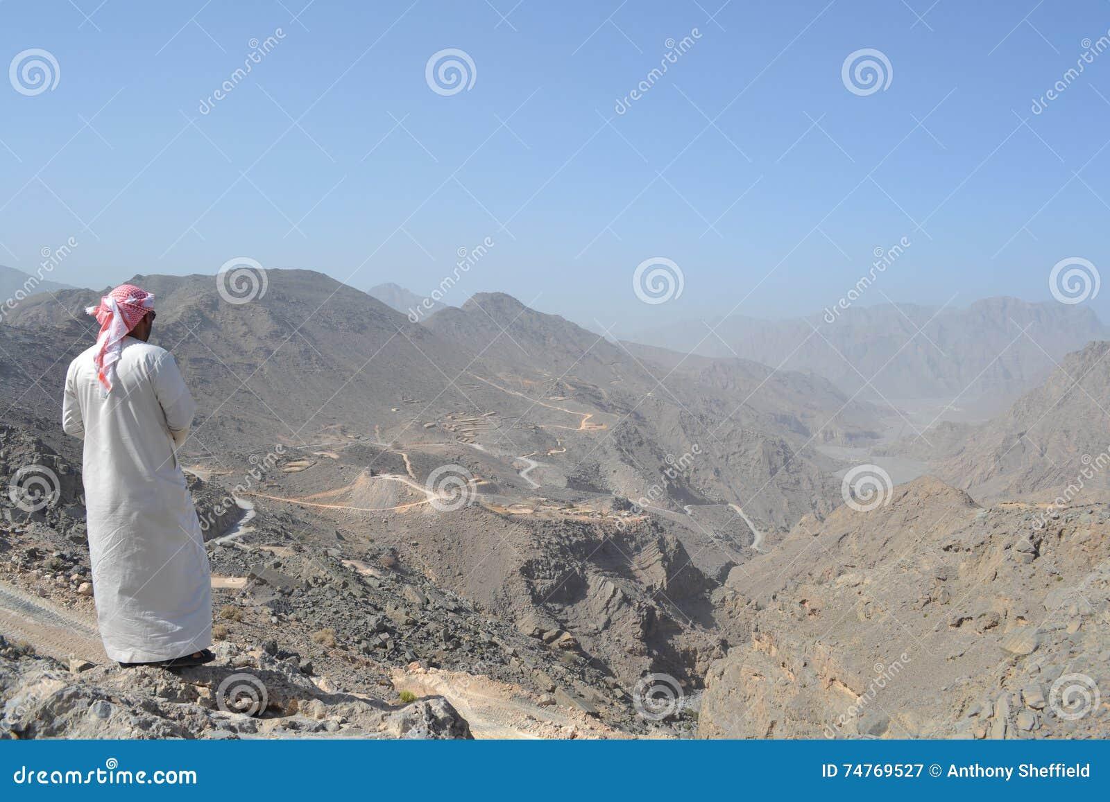 Montanhas da península de Musandam