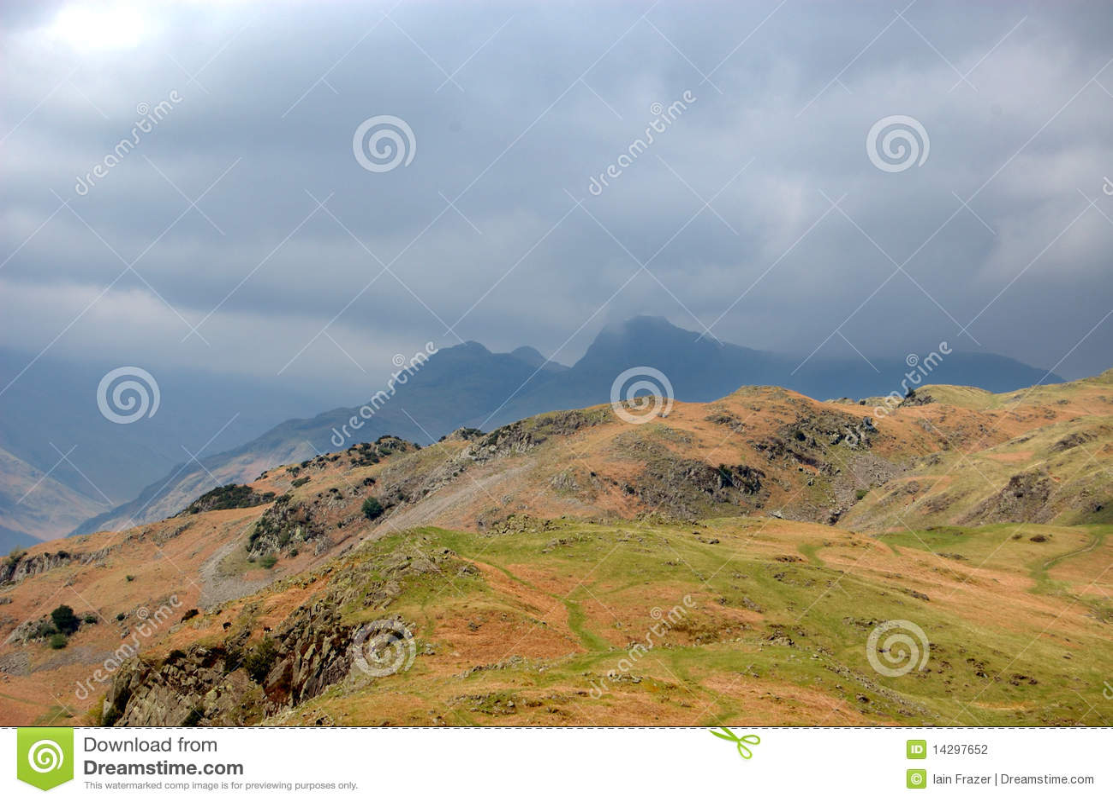 Montanhas da prata como