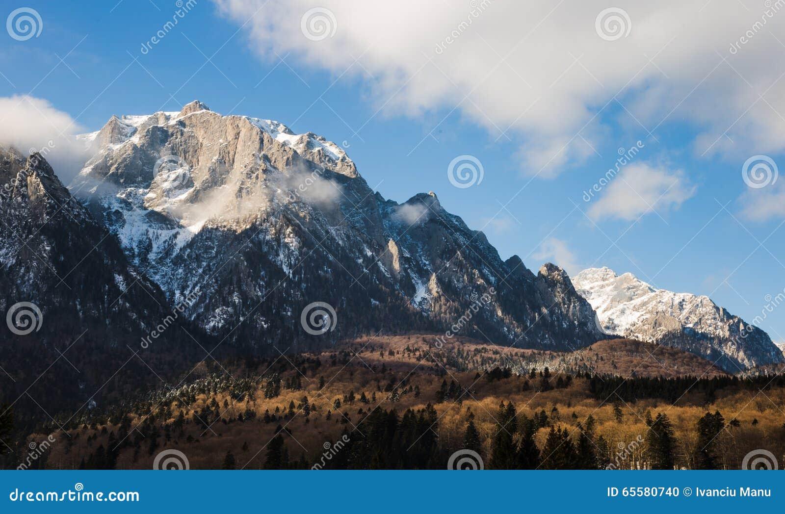 Montanhas de Bucegi