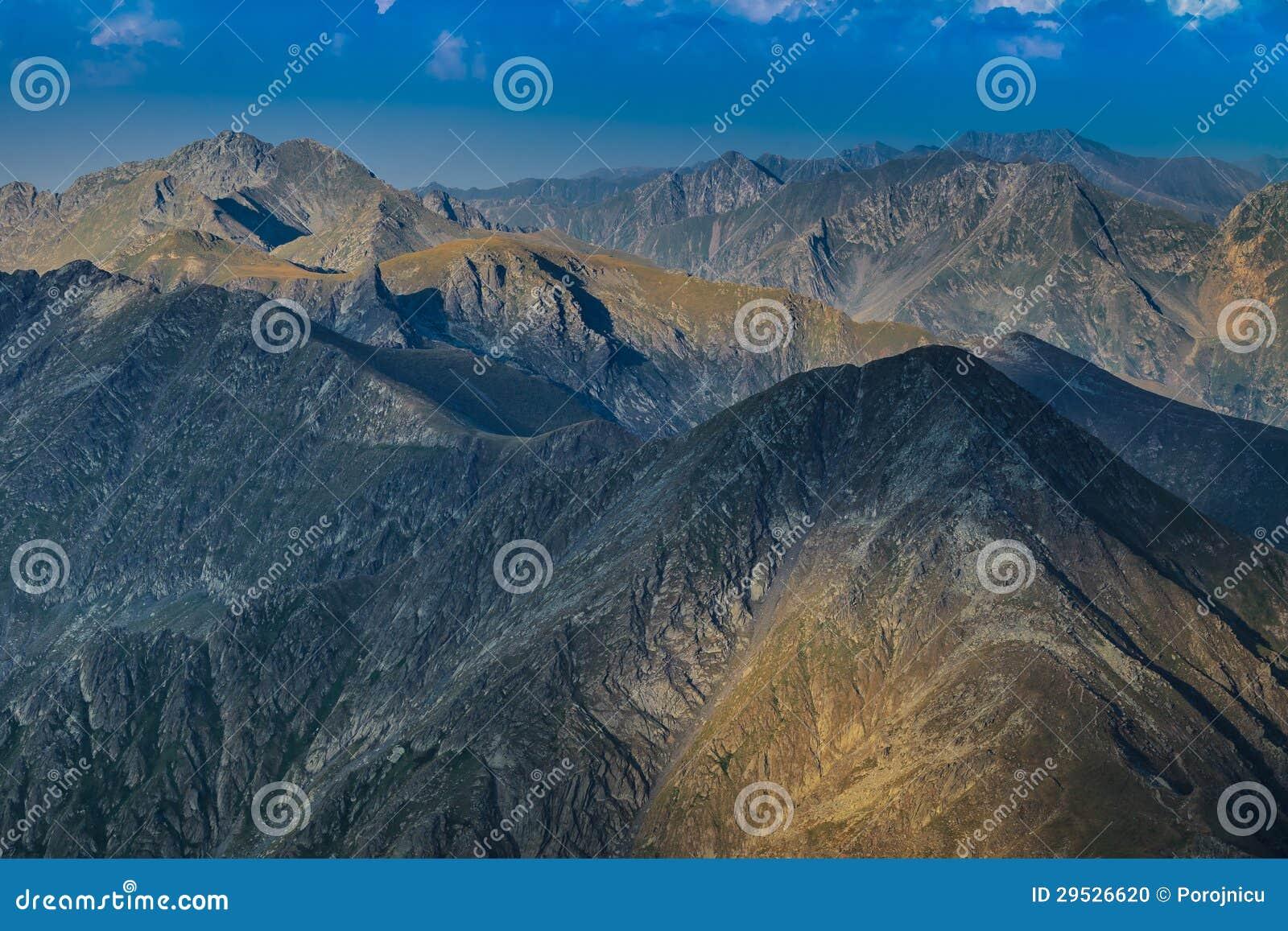 Montanhas de Fagaras, Romania