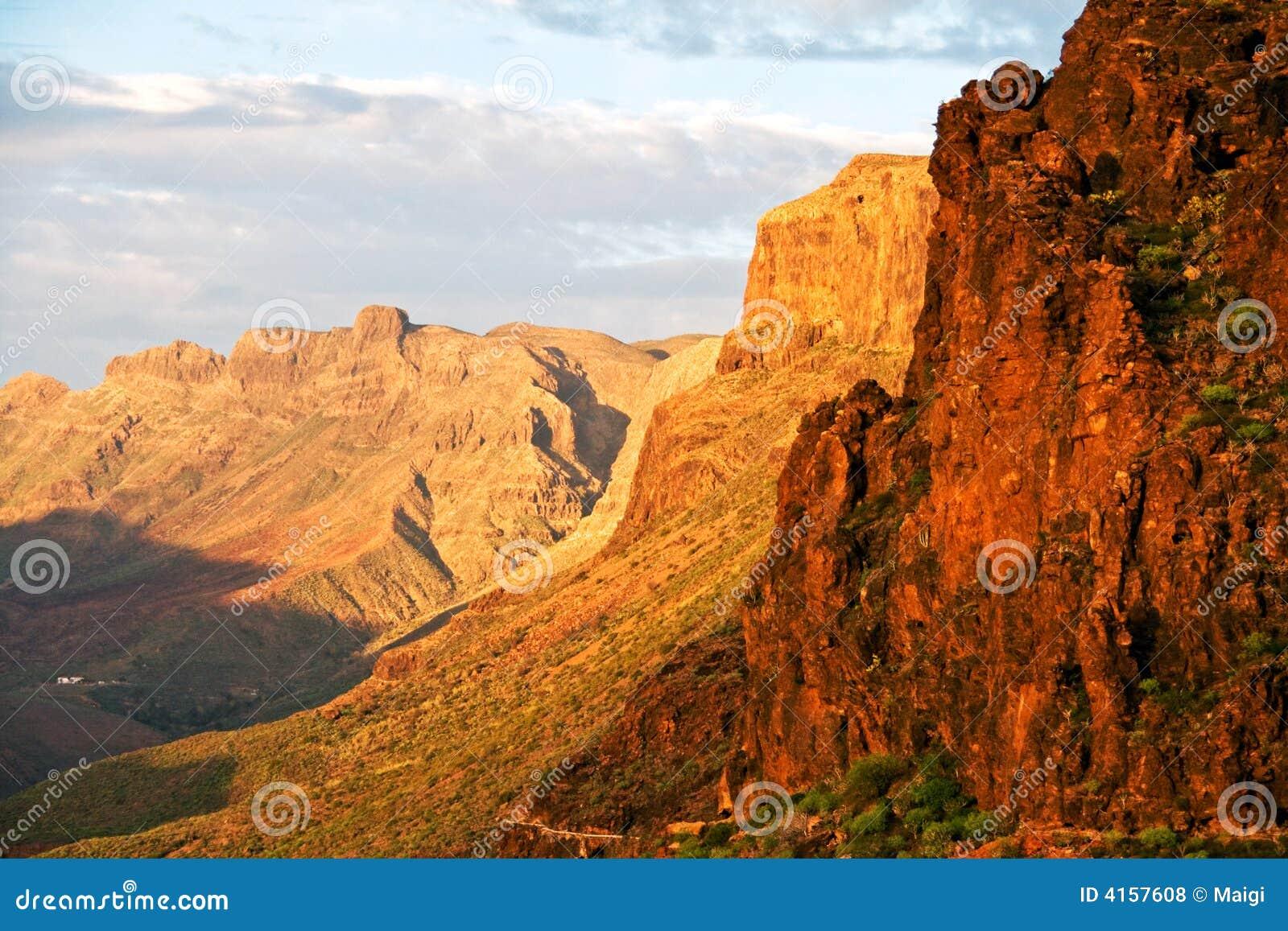 Montanhas de Gran Canaria