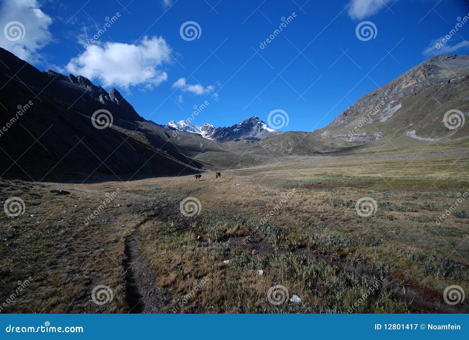 Montanhas de Peru