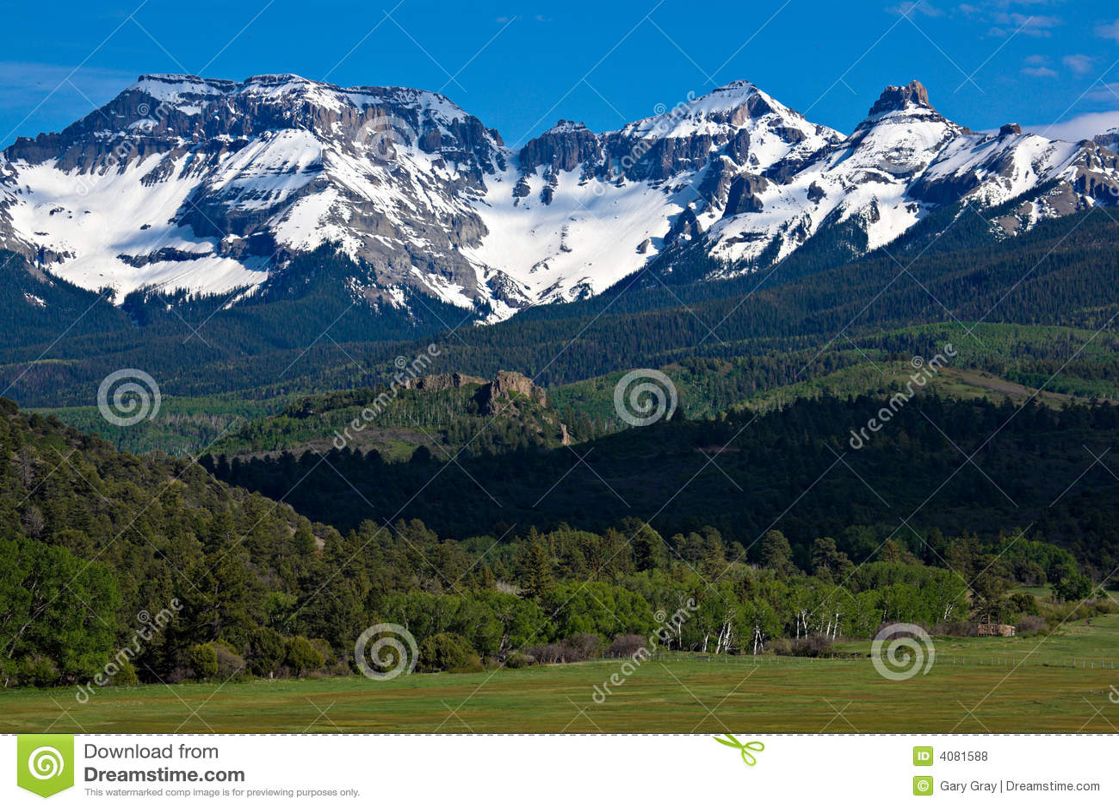 Montanhas de San Juan