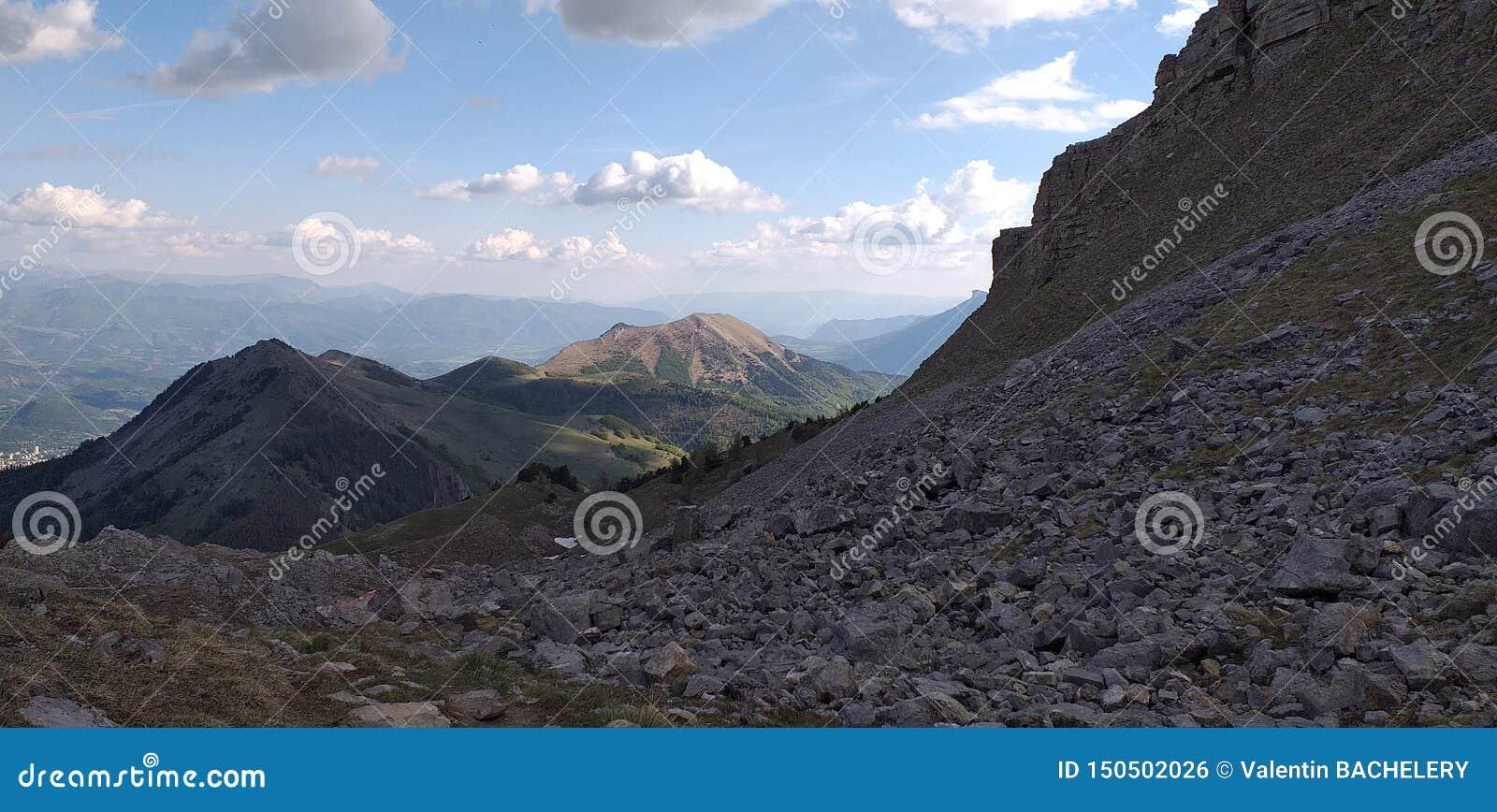 Montanhas francesas Hautes-Alpes