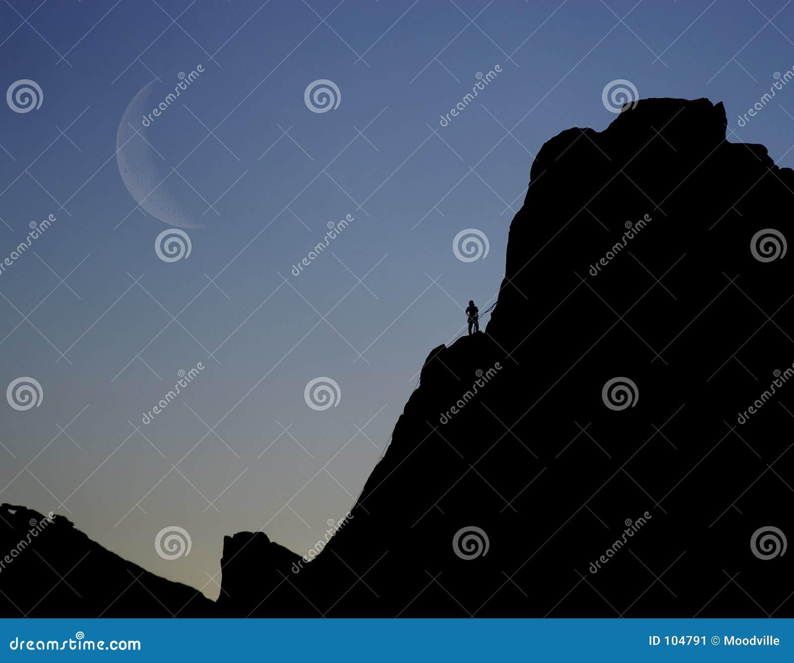 Montanhista da rocha