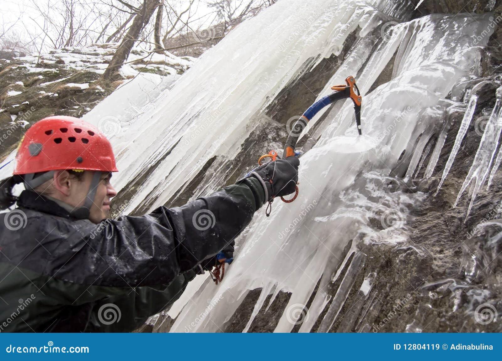 Montanhista de gelo